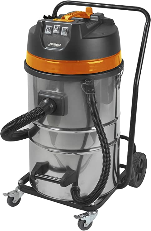Euromac Force 3080 3000W Negro, Naranja, Acero inoxidable ...