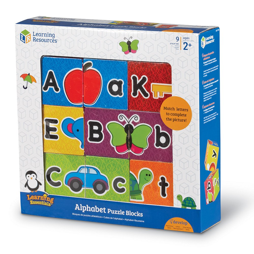 Learning Resources Alphabet Puzzle Blocks LER7720