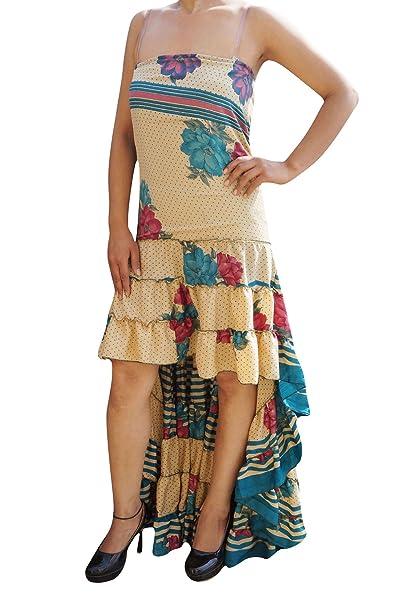 Boho Chic Designs - Vestido - Noche - para mujer Beige beige Medium