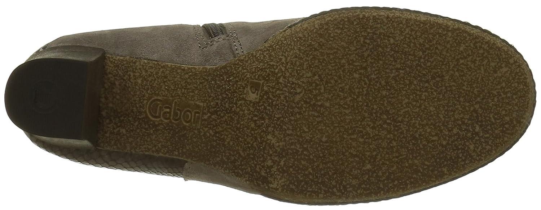 Gabor Damen Comfort Sport Kurzschaft Stiefel Grau Grau Grau (Wallaby (Micro) 33) 147fa8