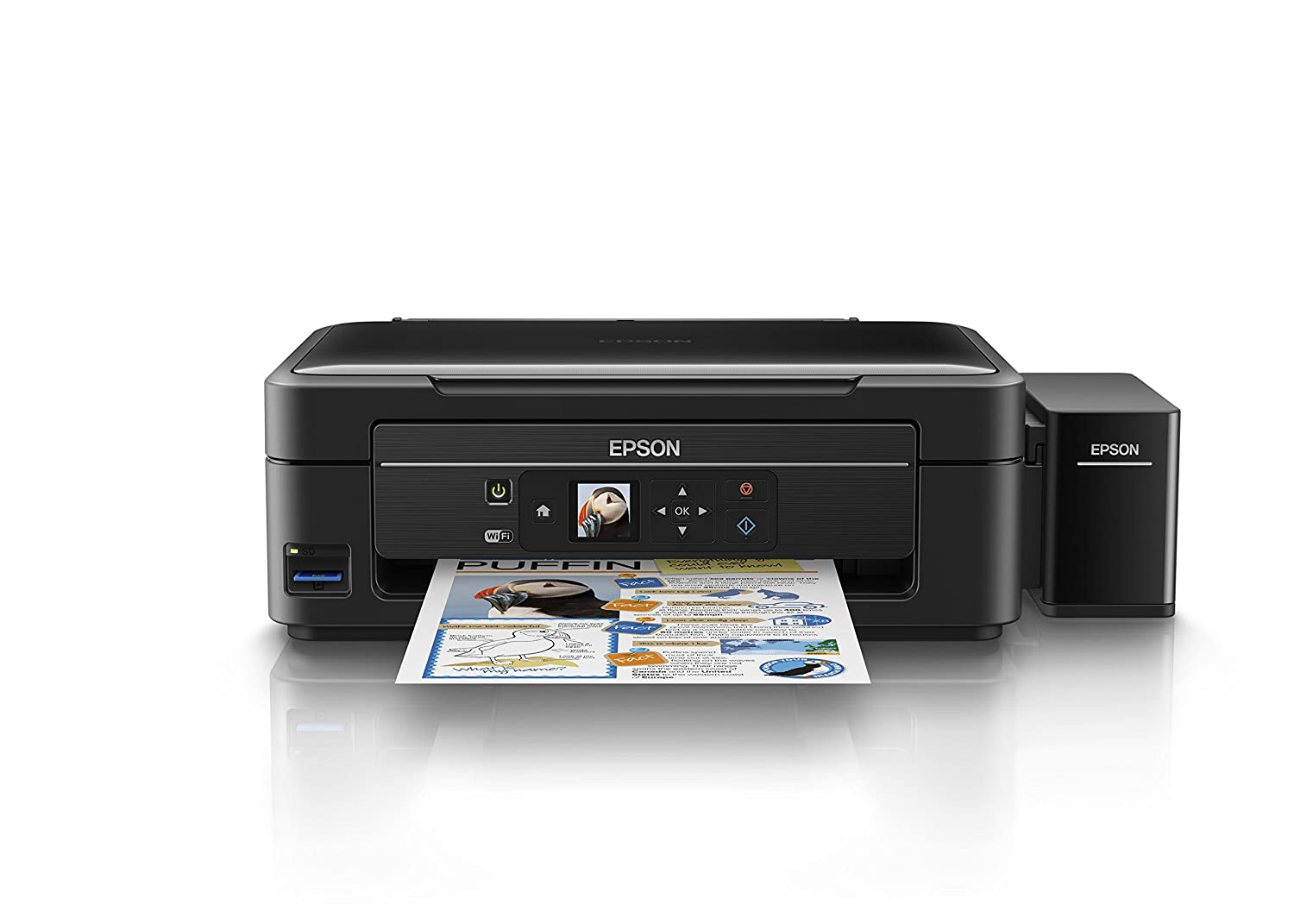 Amazon in buy epson l485 wi fi inktank printer online at low prices in india epson reviews ratings