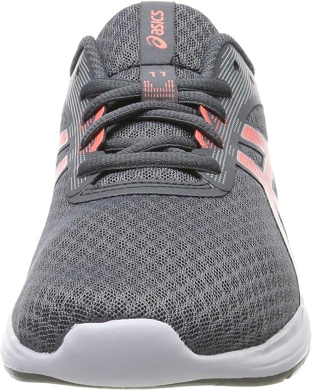 Asics Patriot 11, Zapatillas de Running para Niñas, Gris (Metropolis/Sun Coral 020), 35.5 EU: Amazon.es: Zapatos y complementos