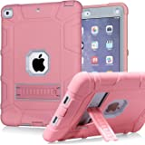 PPSHA iPad 6th Generation Cases, iPad 2018 Case, iPad 9.7 Inch Case,Hybrid Shockproof Rugged Drop Protection Cover Built…