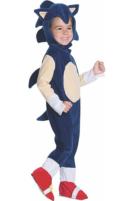Amazon Com Rubie S Sonic Baby Toddler Costume Romper Infant Clothing