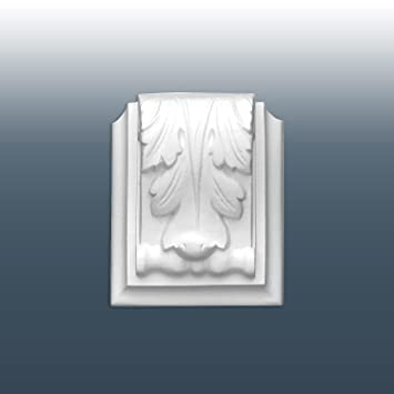 Elemento decorativo en material espuma sólida de poliuretano para la moldura Orac Decor C307A LUXXUS: Amazon.es: Bricolaje y herramientas