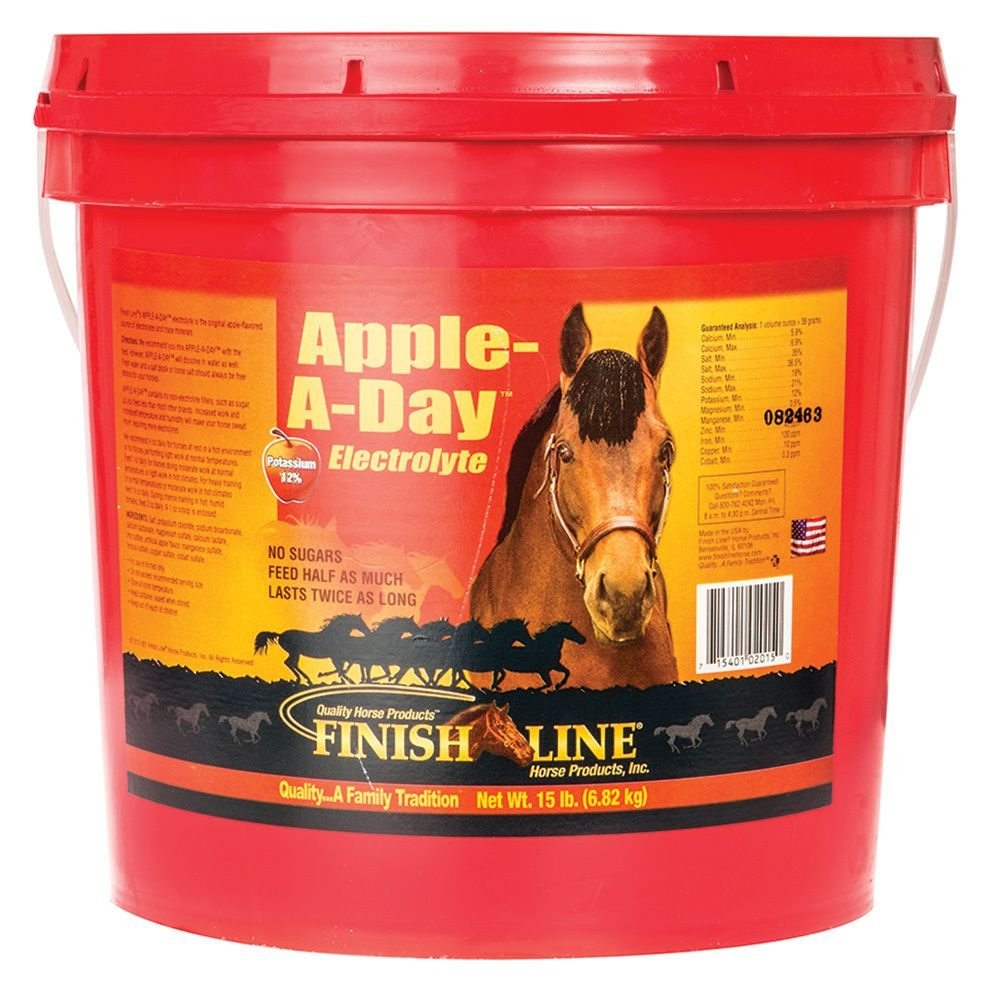 Finish Line Horse Products Apple A Day (15-Pounds) by Finish Line Horse Products
