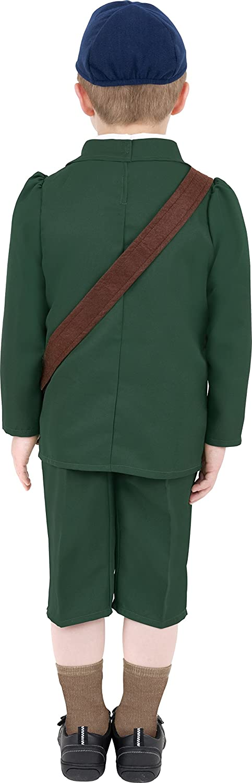 Amazon.com: Segunda Guerra Mundial Evacuados Boy disfraz ...