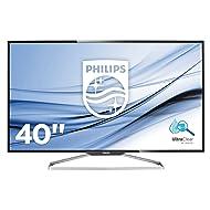 """Philips BDM4065UC 40"""" Class 4K Monitor UHD 3840 x2160 Resolution, Speakers, USB Hub, VGA, DisplayPort, Mini DisplayPort, HDMI, MHL-HDMI"""