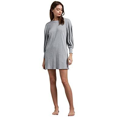 e43f4428b0 Amazon.com  Volcom Women s Lil 3 4 Sleeve Crew Neck Dress  Clothing