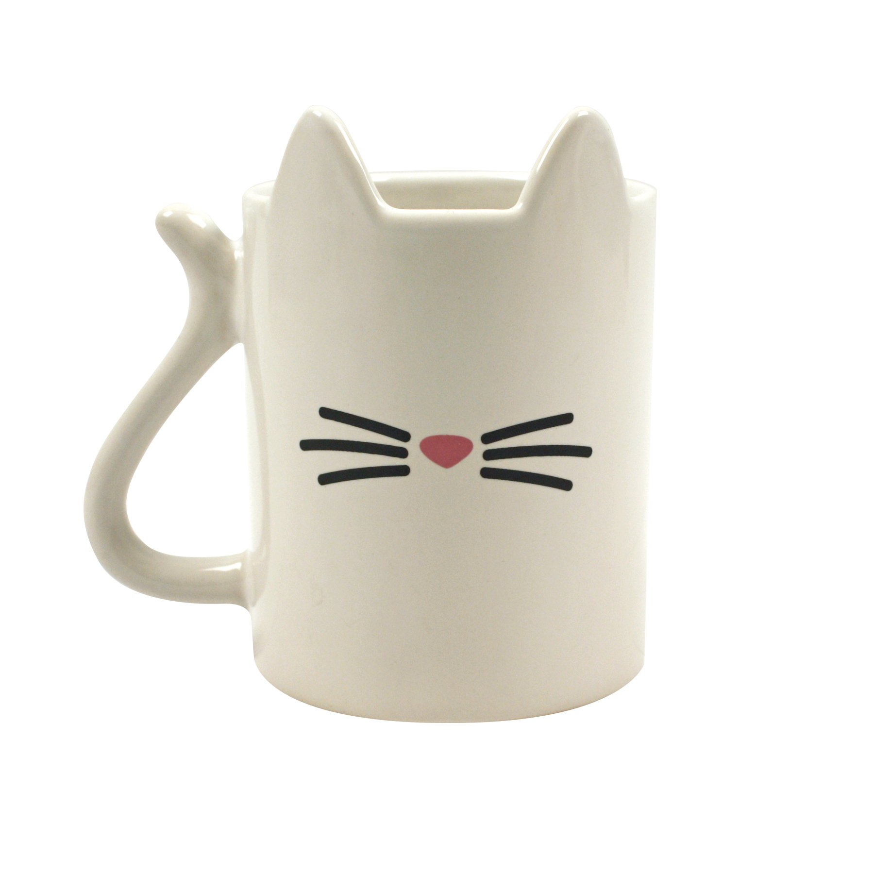 Gift Republic GR400009 Animal Cat Mug, Multicolor