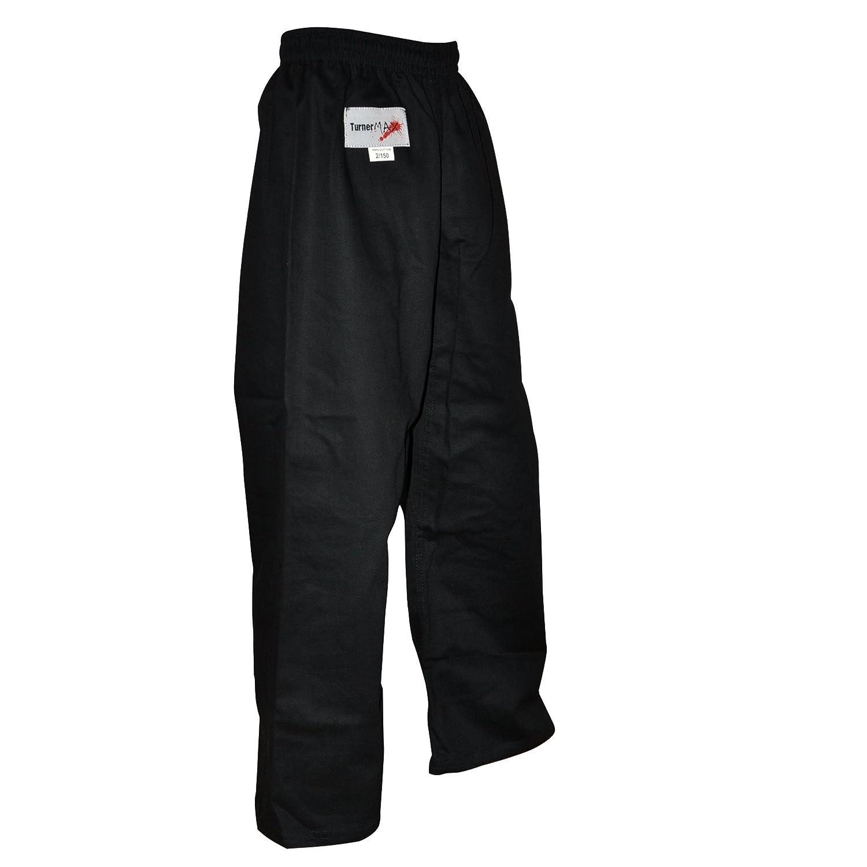 TurnerMAX Kick Boxing Pantalones de Entrenamiento para Artes Marciales Karate Kung fu