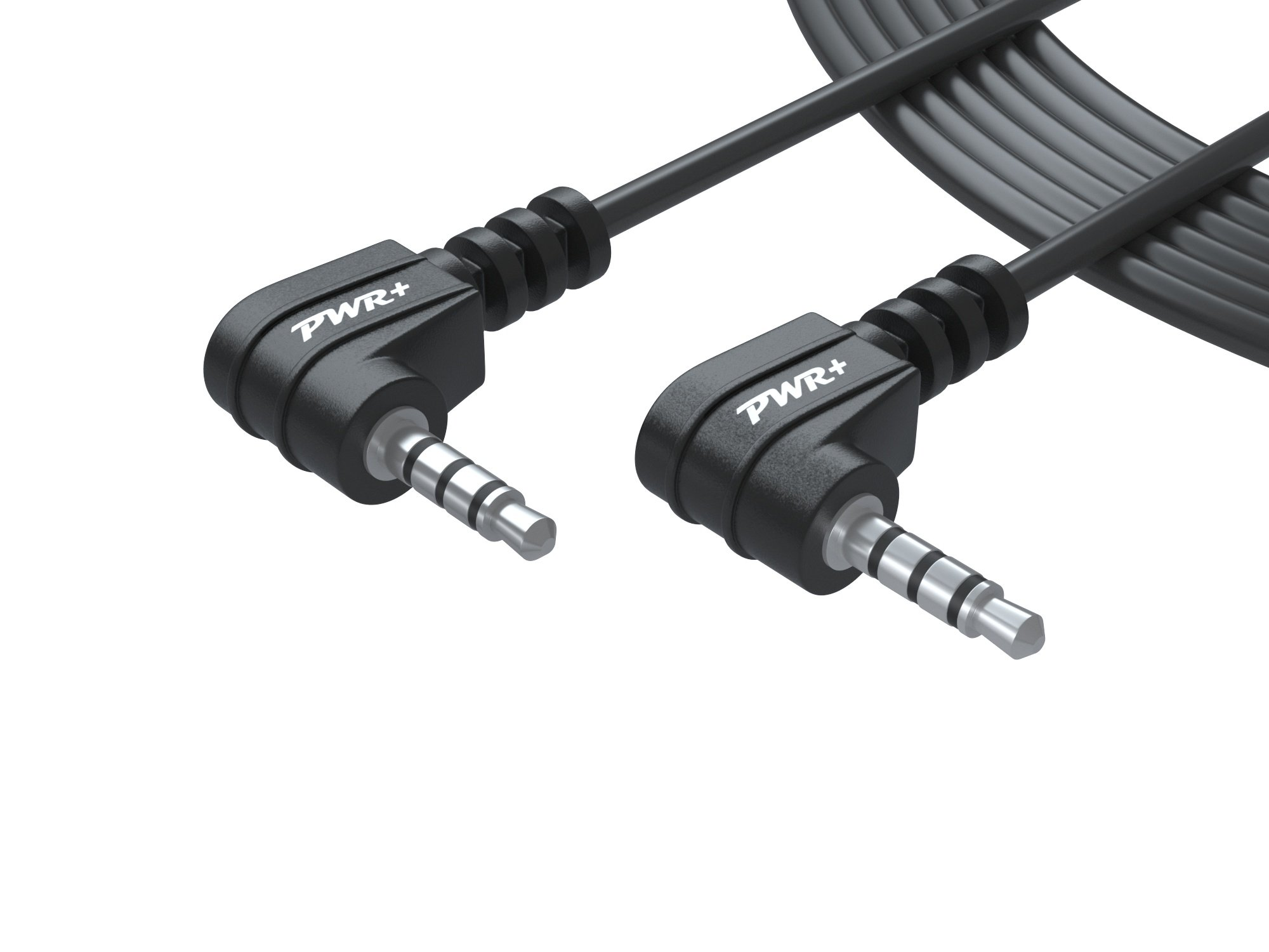Pwr 6 Ft Cord 3.5mm Screen-to-Screen Audio and Video AV Cable for Portable DVD Player Dual Screen: Compatible with Philips, Insignia, Sony, Impecca, Aduiovox, RCA, Proscan, DBPower, Ematic, Naviskauto