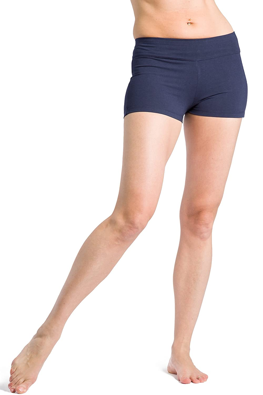 Fishers Finery Women's Ecofabric 2' Yoga Dance Running Short WV-01-YP1-062