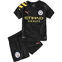 PUMA 2019-2020 Manchester City Away Little Boys Mini Kit