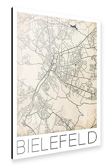 Amazon.de: artboxONE Alu-Print 150x100 cm Städte Städte / Weitere ...