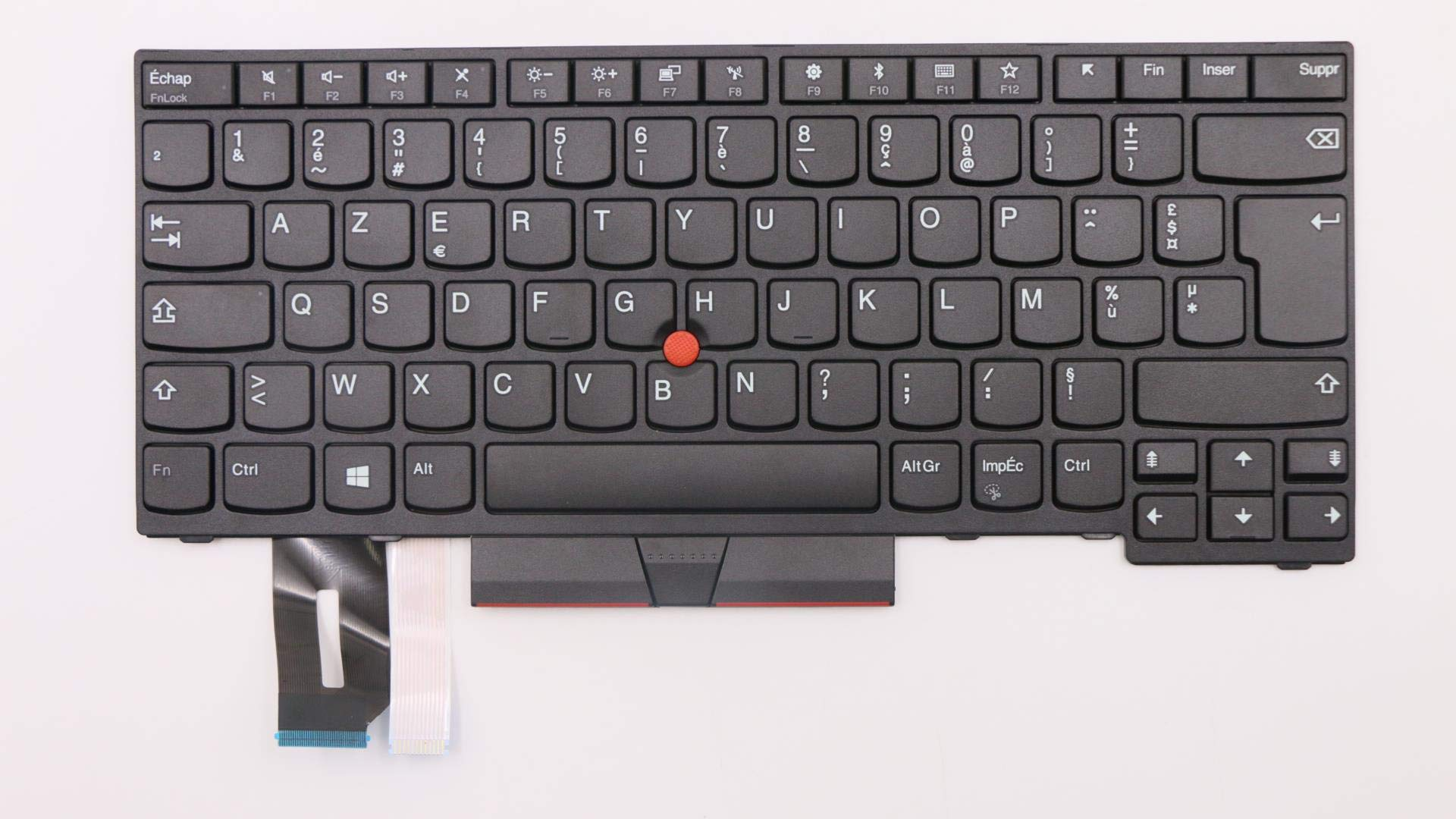 Teclado USA No Retroiluminado para Lenovo ThinkPad T480s, T4
