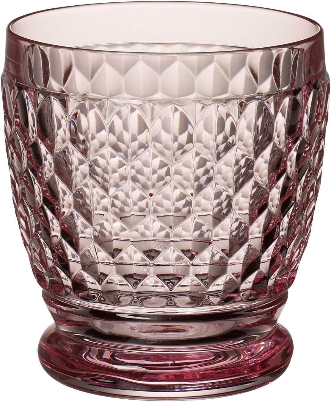 Kristallglas Villeroy /& Boch Boston Coloured Becher Rose 100mm