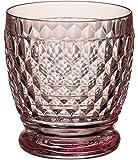 Villeroy & Boch Boston Coloured Bicchiere, 330 ml, Cristallo, Trasparente/Rosa