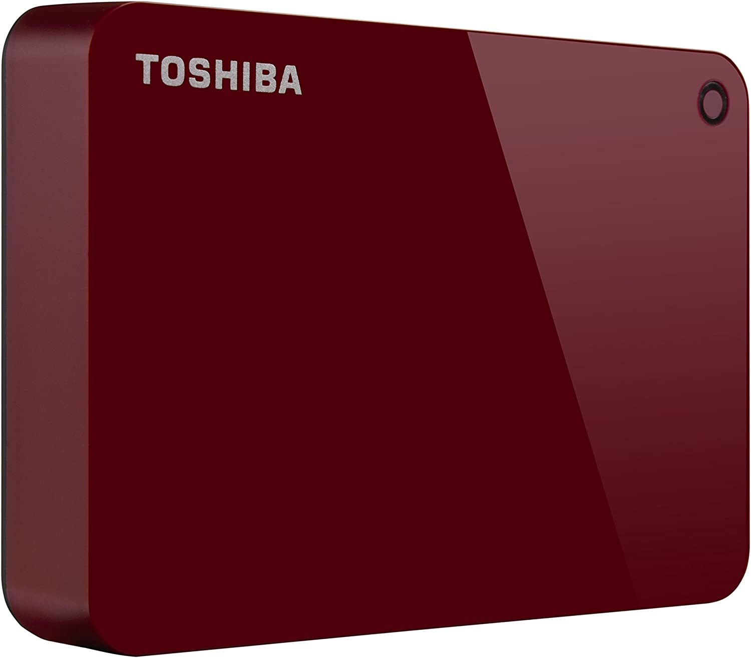 Toshiba (HDTC940XR3CA) Canvio Advance 4TB Portable External Hard Drive USB 3.0, Red