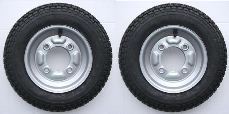 Par de ruedas completas con neumático (350 x 8
