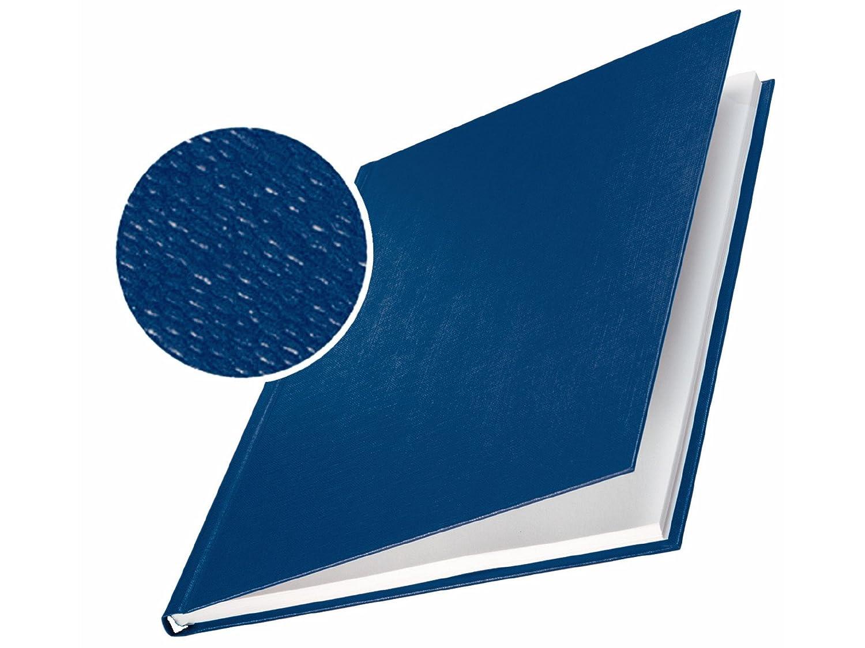 Leitz 73930035 Buchbindemappe impressBIND, Hard Cover, A4, 14 mm, 10 Stück, blau 10 Stück Esselte Leitz