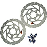 Shimano 2PCS 160mm 6-Bolt Disc Brake Rotor SM-RT56-S Stainless Steel Bicycle Rotors