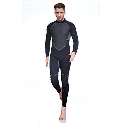 3MM Swimsuit for Men Design One Piece Long-sleeve Surfing Suit Sun Protection