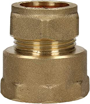 Brass Compression Nuts Choose Sizes From 8mm-54mm Packs Of 1 or 5.