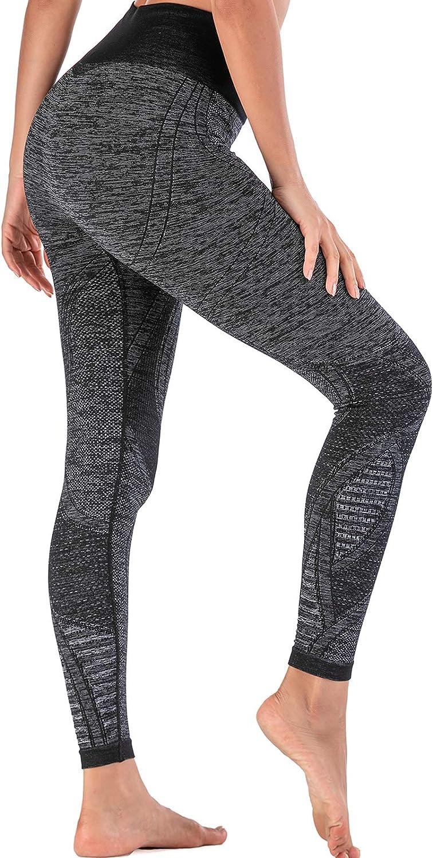 High Waisted Stretchy Yoga Leggings Squat Proof Workout leggings Geometric Pattern Colorful Leggings