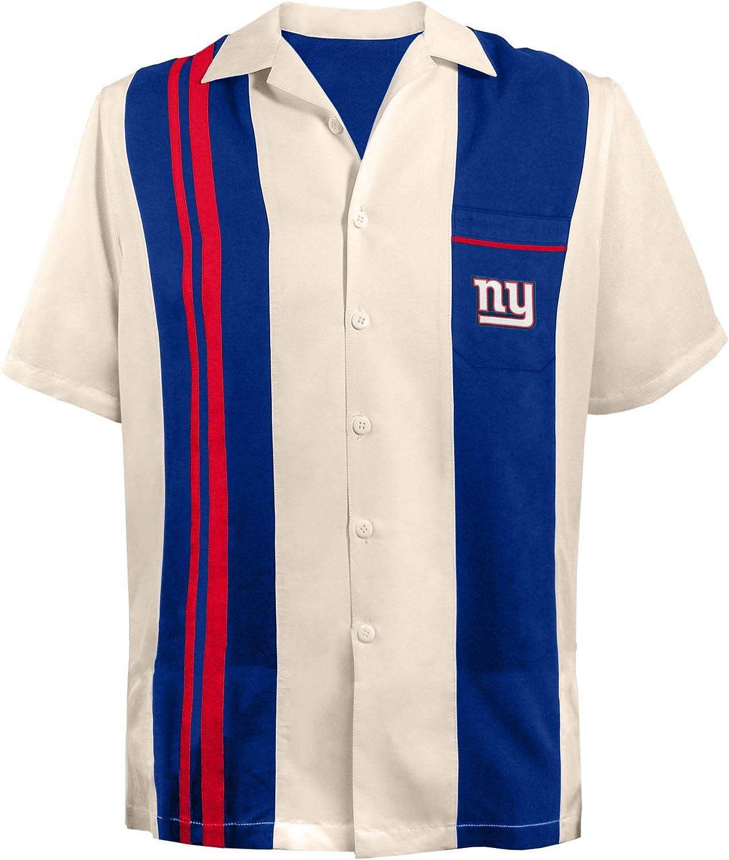 NFL New York Giants Spare Bowling Shirt, 4XL ニューヨーク ジャイアンツ ボーリングシャツ XXXXL 141[並行輸入]