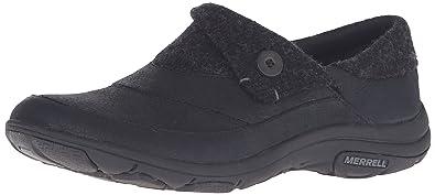 Merrell Women's Dassie Fold Moc Slip-On Shoe, Black, ...
