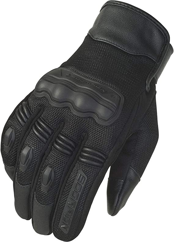 Scorpion Divergent Gloves (Large) (Black)