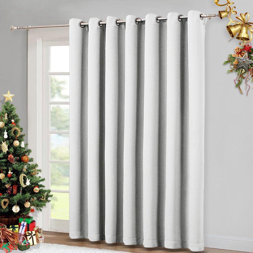 Vertical Blinds For Sling Door Window Silver Grommet Top