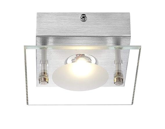 Lámpara de techo de aluminio iluminación led aplique globo ...