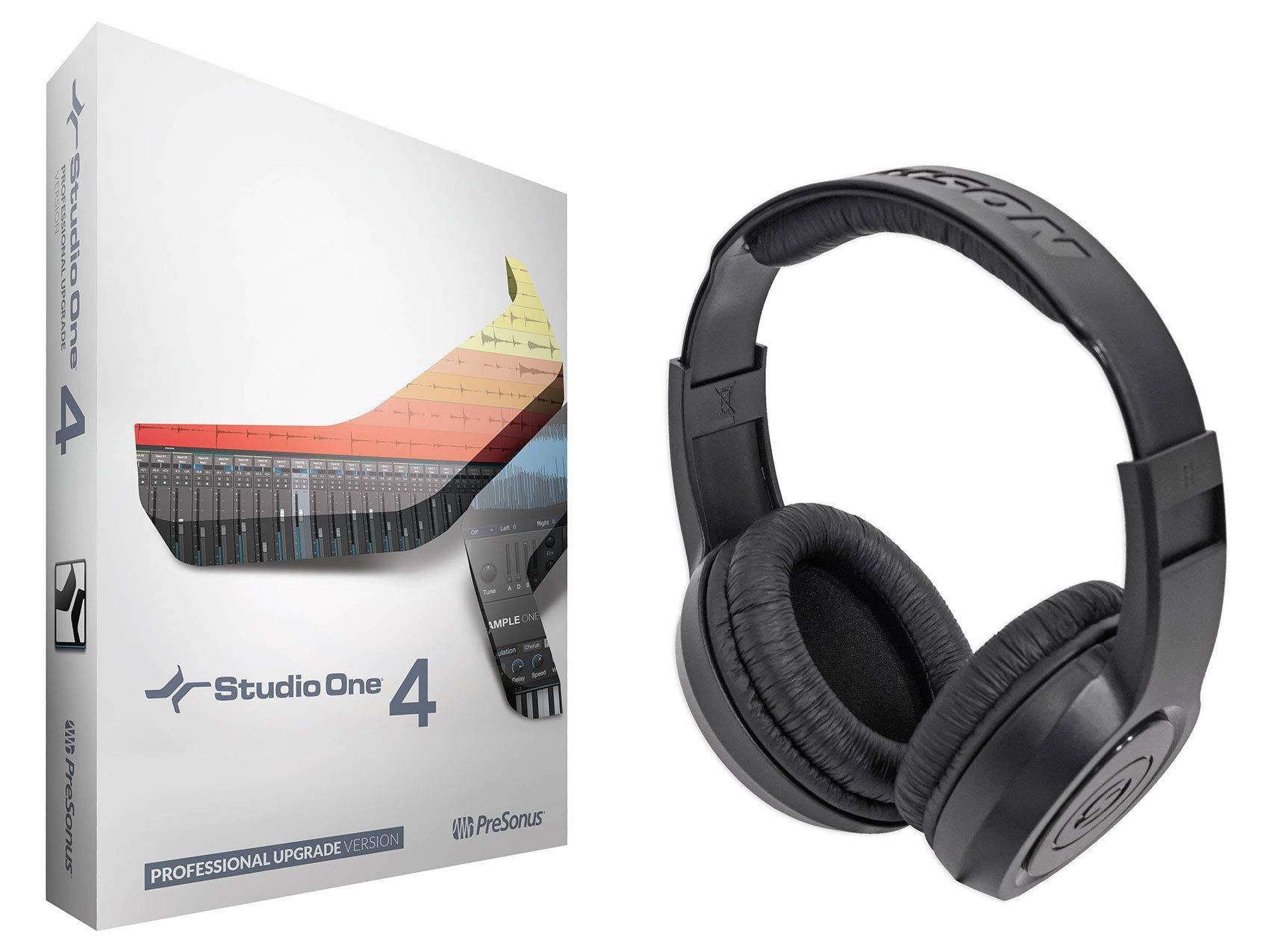 Presonus Studio One Upgrade Artist/Producer Version 1/2/3 to Pro 4.0+Headphones