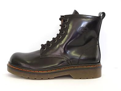 39b700c4a1870f Gallucci Bottines 1518 College Nero Chaussures Italiennes Fille (29)