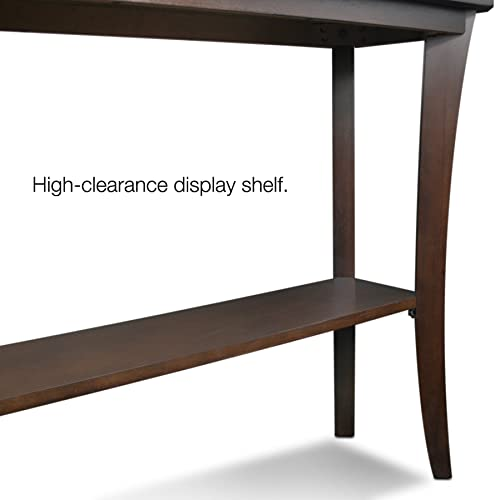 Leick Furniture Boa Collection Console Table, Cherry