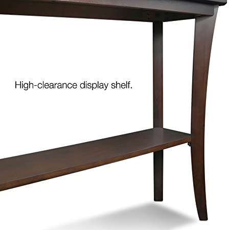 Leick Furniture Boa Collection Solid wood Hall Console Table