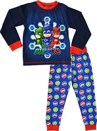 PJ Masks Pyjamas Boys Official PJ Set Ages 2 To 7 Years[2 3