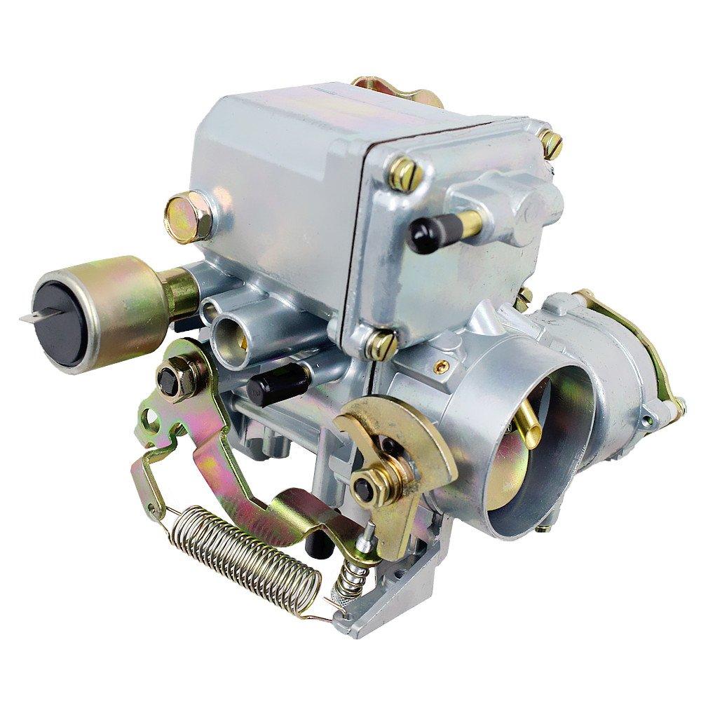 Ifjf Carburetor For Vw Beetles Super 1971 1979 Engine Parts Diagram 1600cc Dual Port With 12v Electric Choke 34 Pict 3 113129031k 98 1289 B Volkswagen