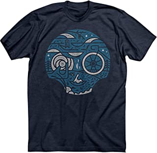 product image for Twin Six Harvest Moon T-Shirt - Men's