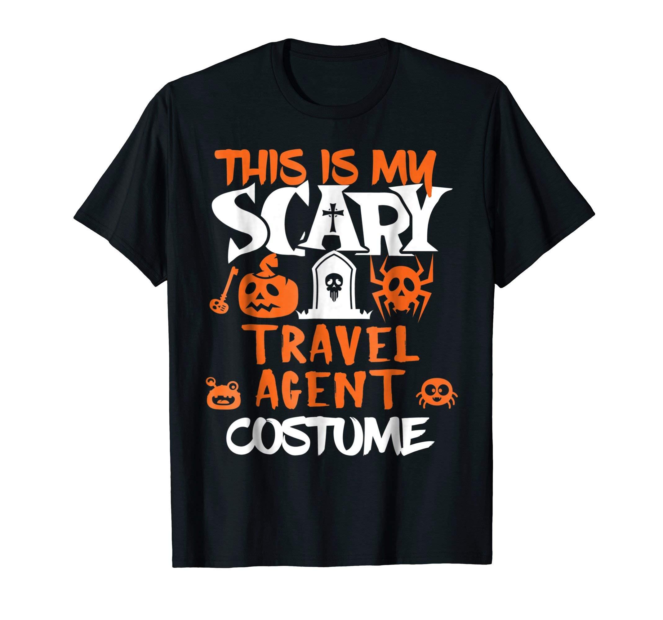 Travel Agent Halloween Costume Funny T-Shirt