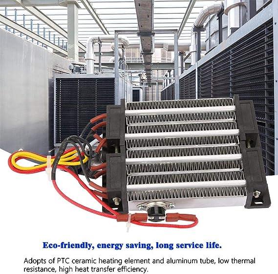 R/échauffeur dair en c/éramique 1000W AC DC 220V A/érotherme//Él/ément Chauffant en C/éramique Isol/é de R/échauffeur dAir de PTC