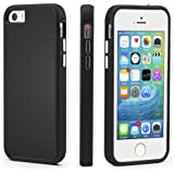 iPhone 5/5s/SE Case, CellEver Dual Guard Protective Shock-Absorbing Scratch-Resistant Rugged Drop Protection Cover For iPhone 5/5S/SE (Black)
