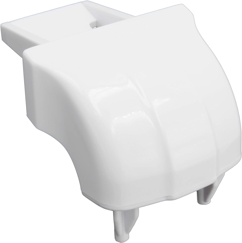 Supplying Demand WR2X9162 Refrigerator Door Bar End Cap Compatible With GE Fits 299265, AH299579