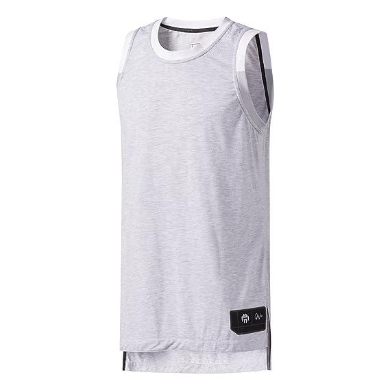 adidas Harden Jersey Camiseta de Baloncesto, Hombre: Amazon ...