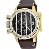 Invicta Men's 20258 Vintage Quartz Multifunction Black Dial Watch