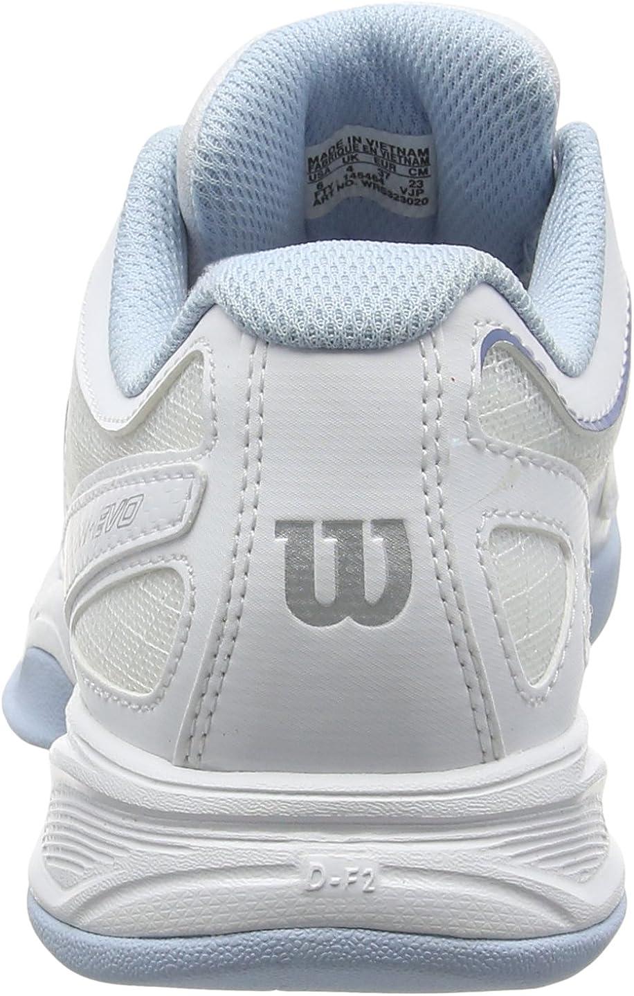Tissu Synth/étique Id/éal pour les joueuses de tous niveaux Pour tout type de terrain RUSH EVO CARPET Wilson Femme Chaussures de Tennis