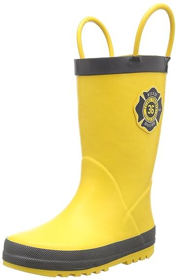 Amazon.com | carter&39s Fireman Rain Boot (Toddler/Little Kid