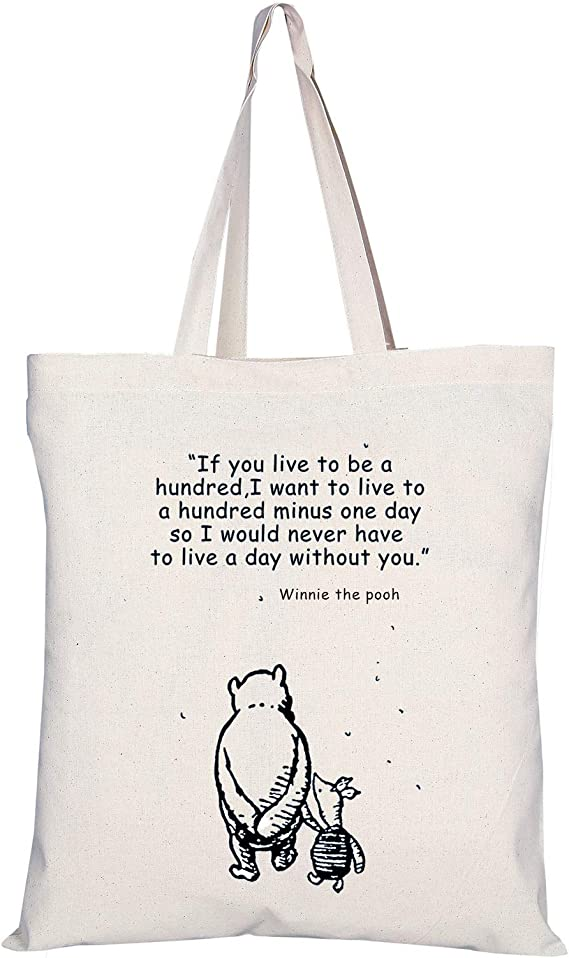 if you live to be a hundred winnie the pooh greeting card
